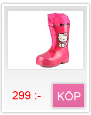 Hello Kitty rosa gummistövlar